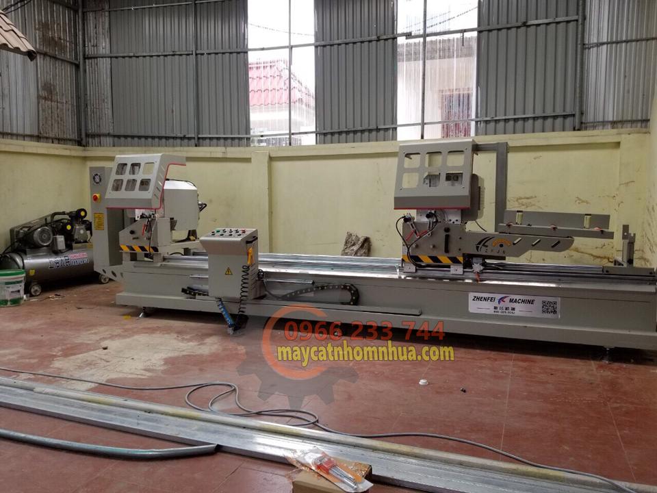 Lắp đặt dàn máy cắt nhôm 2 đầu 08S tại Tỉnh Quảng Bình