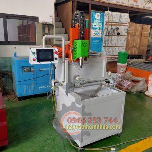 Máy khoét khóa nhôm CNC made in Việt Nam