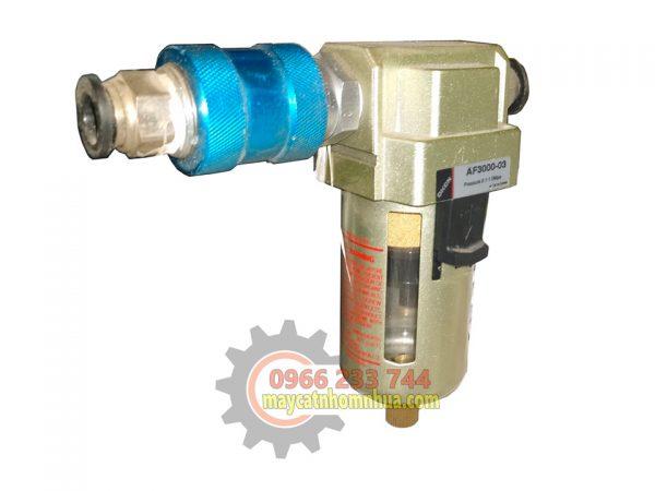 Cốc lọc khí có khóa hơi đảm bảo an toàn khi không sử dụng
