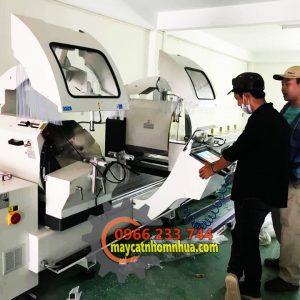 Hướng dẫn sử dụng máy cắt nhôm 2 đầu Thổ Nhĩ Kỳ